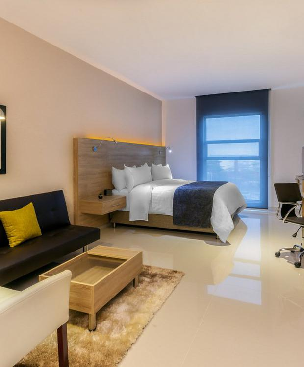 Chambre King GHL Collection Barranquilla Hôtel