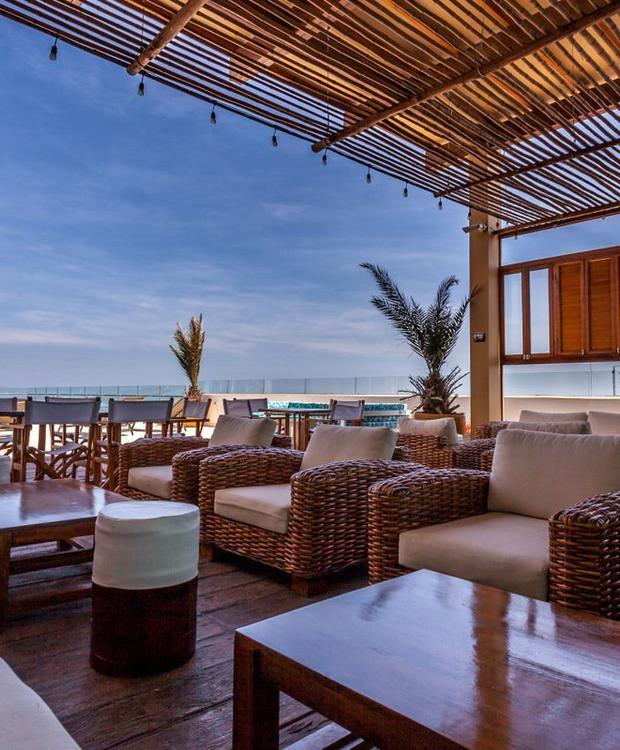 Terrasse GHL Collection Barranquilla Hôtel