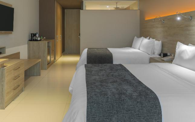 CHAMBRE TWIN COLLECTION GHL Collection Barranquilla Hôtel Barranquilla